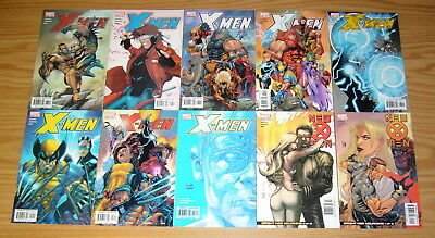 X-Men #155-164 VF/NM complete run by chuck austen - juggernaut wolverine larroca