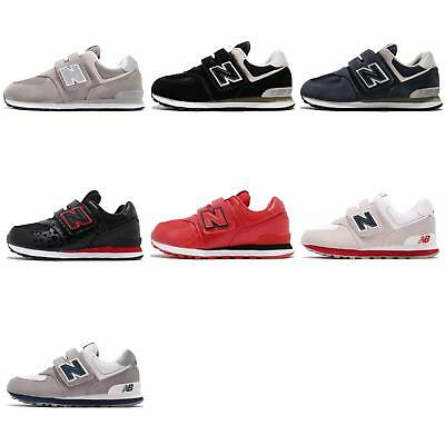 cheaper ebc3d 59b96 NEW BALANCE YV574 W 574 Wide Kids Junior Youth Shoes Sneakers Pick 1