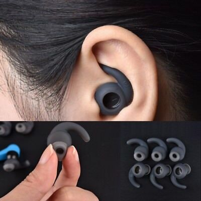 3 Pairs S/M/L Silicone Earbuds Cover With Ear Hook For JBL Bluetooth Headset