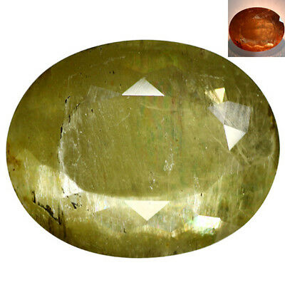 30.92 Ct Excellent Oval Cut 22 x 18 mm AAA Color Change Turkish Diaspore