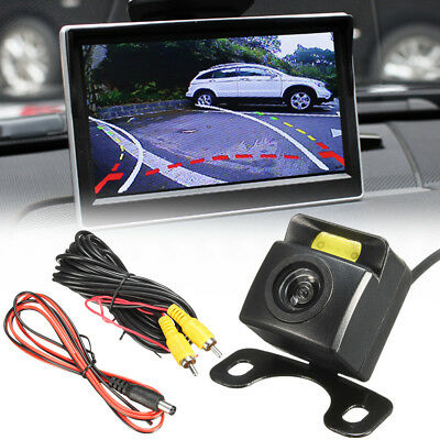 Hd Wired Rear Tailgate Dynamic Trajectory Rearview Car Camera Moving Guidelines Buy Now Vehicle Electronics & Gps Ebay Motors