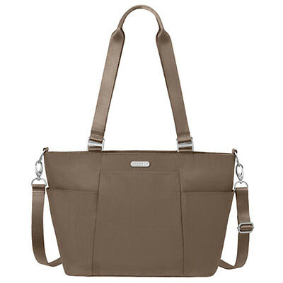 Baggallini Medium Avenue Tote Travel Handbag Portobello