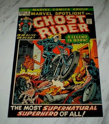 Marvel Spotlight #5 NM+ 9.6 OW pages 1972 Marvel 1st Ghost Rider and origin