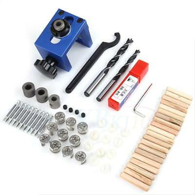 Carpentry Positioner Drill Locator Jig Drill Bit Kit Woodworking Auxiliary Tools
