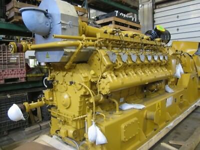 2017 Caterpillar CG-170-16 Natural Gas Genset - New Unit, Damaged in Shipping