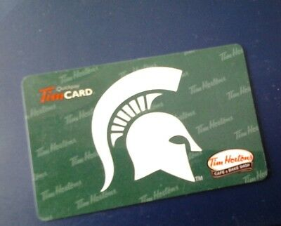 MICHIGAN STATE Tim Horton's Giftcard