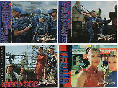 KYLIE MINOGUE - 6 CARDS from the Upper Deck Card set 1994 - STREETFIGHTER