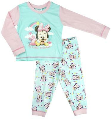 Girls Baby Disney Minnie Mouse Little Dreamer Cotton Pyjamas 6 to 24 Months