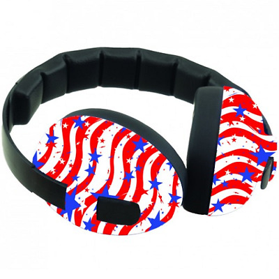 Baby Banz Infant Hearing Protection, Stars & Stripes, 20% Off, Free US Shipping!