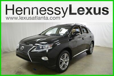 Lexus RX 4DR FWD 2015 4DR FWD Used Certified 3.5L V6 24V Automatic FWD SUV Premium Moonroof