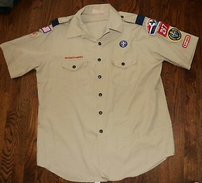 Boy Scouts Of America Official Shirt Adult Extra Large Nice!