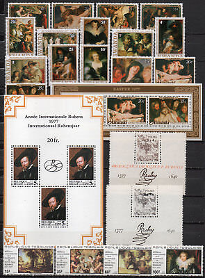 Peter Paul Rubens different editions, MNH (1589