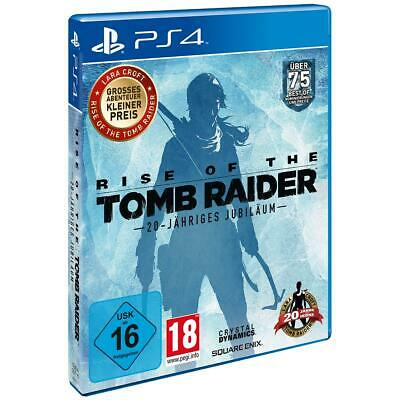 Rise of the Tomb Raider Sony PS4 Spiel, NEU&OVP
