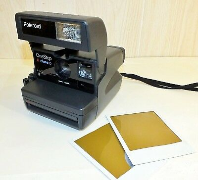 Authentic and Vintage Polaroid One Step Close Up Instant 600 Flash CameraTested