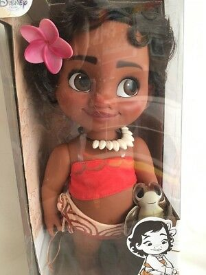 Disney Store Animators Collection Vaiana Moana Puppe 40cm