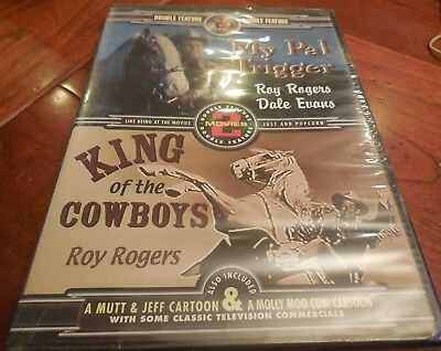 """King of the Cowboys/My Pal Trigger (DVD, 2006) Roy Rogers, George """"Gabby"""" Hayes"""