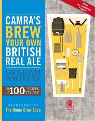 Brew Your Own British Real Ale by Graham Wheeler 9781852493196 (Paperback, 2014)