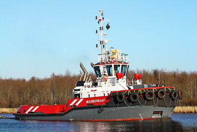 20x30cm Foto Bild Wagenborg Towage Waterstraat Schlepper Tug Tugboat Poster Ship