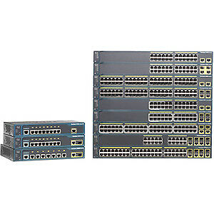 NEW! Cisco Catalyst 2960+24Pc-S 26 Ports Manageable Ethernet Switch 2 Layer Supp