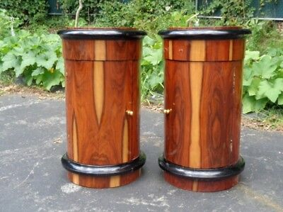 Fabulous Pair side tables commodes Art Deco inspired