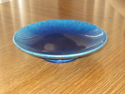 Antique Sevres Paul Millet Blue Flambe Footed Bowl EX!