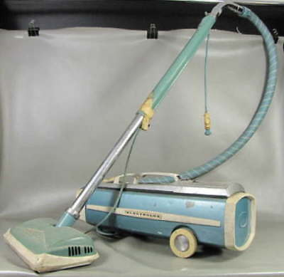 Vintage Electrolux Model 1205 Canister Vacuum Cleaner & Hose Cleaner Head Retro
