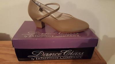Trimfoot Co.Dance Class Women's C200M COMFORT CHARACTER DANCE SHOE TAN SIZE 6 M