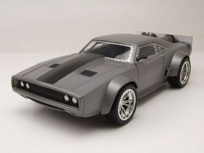 Dodge Ice Charger >> Dodge Ice Charger Grey Metallic Dom Fast Furious 8 Model