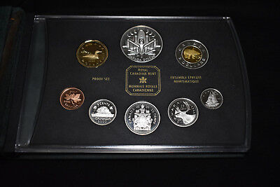 2000 Canada Silver Proof Set, Voyage Of Discovery