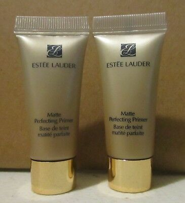 Lot of 2 ESTEE LAUDER Matte Perfecting Primer 0.17 fl. oz. / 5ml Sample Size