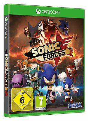 Sonic FORCES XBOX ONE NEUF + EMBALLAGE ORIGINAL
