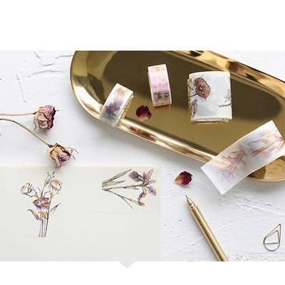 Letter lovers DIY Washi Paper Decorative Sticky Paper Masking Tape Self Adhesive