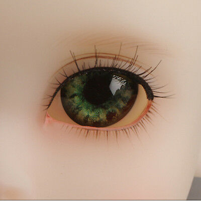 WF-09 BJD acrylic eyes 12mm Dollmore Optical Half Round Acrylic Eyes