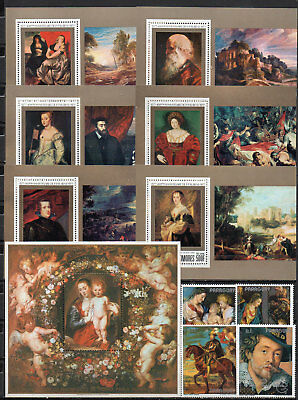 Peter Paul Rubens different editions, MNH (1595