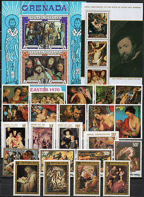 Peter Paul Rubens different editions, MNH (1600