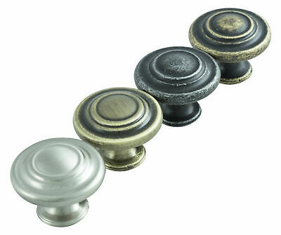 Hausen Traditional Vintage Door Handle Kitchen Cupboard Wardrobe Drawer Knobs