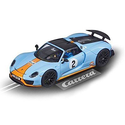 "Carrera 20027549 - Evolution Porsche 918 Spyder ""Gulf Racing No.02"""
