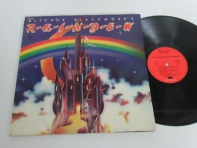Rainbow/ritchie Blackmore´s Rainbow  Lp 1975 Polydor Oyster 2391 190 Foc