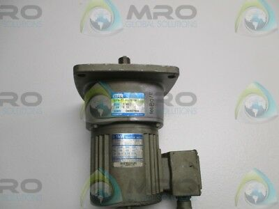 Gtr G3Fm-22-80-T010A Motor Ratio: 1:80 Kw: 0.10 (Repaired) * New No Box *