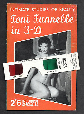 TONI FUNNELLE in 3D:Intimate Studies of Beauty No.3 by Roy Nicholson ca.1957