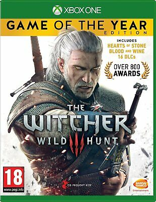 The Witcher 3 III Wild Hunt Game of the year Complete Edition Brand New Sealed
