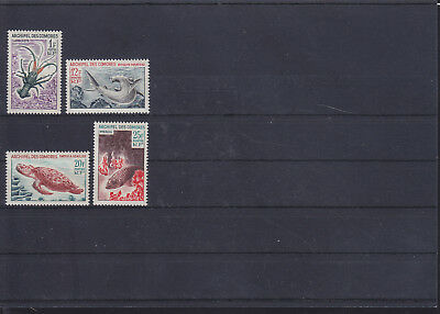060199 Fische Fish ... Comores 68-71 ** MNH Year 1965