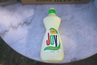 Vintage Joy dish soap, Lemon fresh, NOS 1969/1970 great condition full