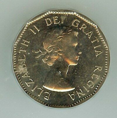 Canada 1958 5 Cents  Icg Pl65