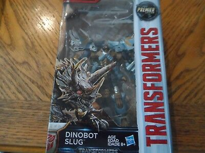 Transformers The Last Knight Premier Edition Dinobot Slug