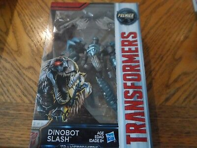 Transformers The Last Knight Premier Edition Dinobot Slash