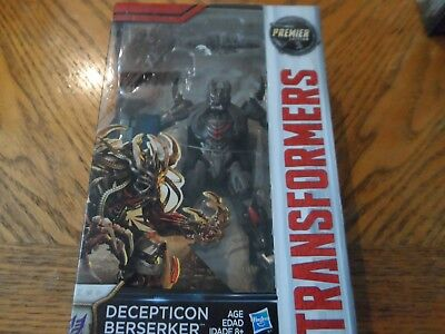 Transformers The Last Knight Premier Edition Decepticon Berserker