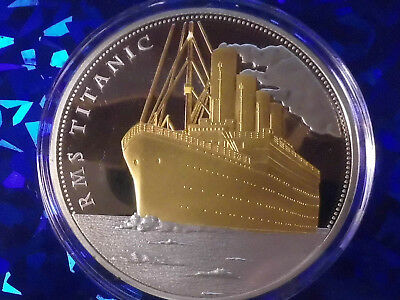 Grosse Medaille 110g.RMS Titanic.Farbe.!!#6