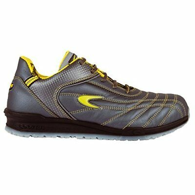 """Cofra 78430-002.W43 Size 43 """"Fogh"""" S1 P SRC Safety Shoes - Grey/Yellow"""