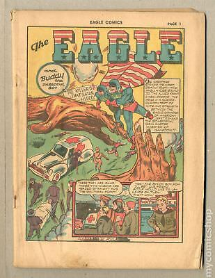 Eagle, The (Fox Features) #4 1941 Coverless 0.3